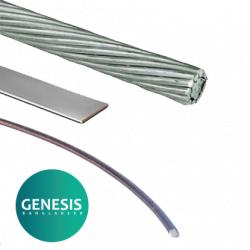 Aluminium conductor for Lightning Protection System (LPS) aluminium conductor