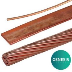 Copper Conductor for Lightning Protection System LPS