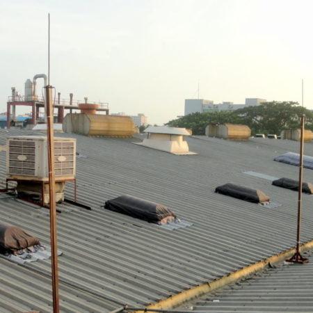Conventional LPS with Copper - Talisman Ltd., DEPZ - www.genesisbangladesh.com