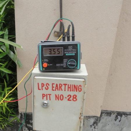Earth Resistance Test - www.genesisbangladesh.com